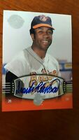 2004 FRANK ROBINSON Auto  SP #66  UD Timeless Teams  /50 Short Print !