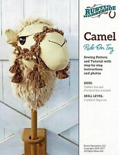"""""""Camel"""" Ride-On Toy Sewing Pattern By Rustic Horseshoe"""