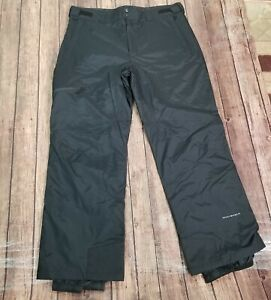 Columbia Diamond Back Omni-Shield Pants Mens Size XL Black Snow Ski