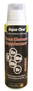 Marine Tank Trace Element Supplement Fish Aquarium 250ml Aqua One