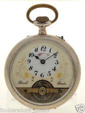 Sistema HEBDOMAS: presto orologio da tasca con sveglia-Brevet 31781 estremamente raro