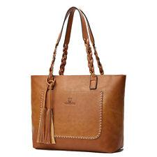 Women Tote Bag Leather Bags Handbag Shoulder Hobo Purse Messenger 87
