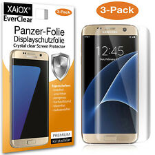 3x Samsung Galaxy S7 Edge Panzerfolie Full Cover Schutz Siehe Video