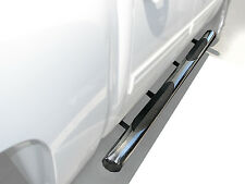 """4"""" Side Step Nerf Bars S/S For 2005-2017 Nissan Frontier/Suzuki Equator Crew Cab"""