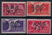 TRIESTE A 1947-48 Democratica, espressi 4v MH*
