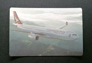 Cathay Dragon Airlines Airplane--Hong Kong Dragon Airlines Ad Postcard