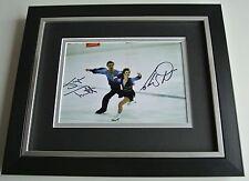 Jayne Torvill & Christopher Dean SIGNED 10X8 FRAMED Photo Autograph Display COA