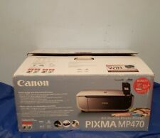 New Canon PIXMA MP470 All-In-One Inkjet Printer