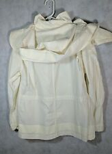 Helmut Lang Archive 1999  Oversized Hook & Loop Hood Paint Stripe Jacket 40