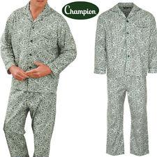 Mens brushed 100/% cotton wincyette paisley pjs pyjamas S M L XL 2XL 3XL