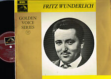 Fritz Wunderlich OPERA AND OPERETTA ARIAS LP STEREO Golden Voice EMI UK HQS1168
