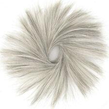 extension bollo de cabello coletero gris 21/51