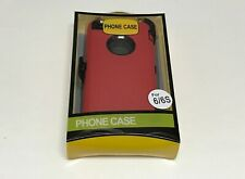 For Apple iPhone 6/6s Case with Belt Clip (Holster Fits Otterbox Defender)Red
