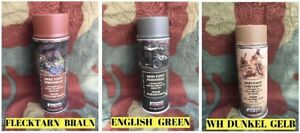 Lot de 3 Bombes spray peinture - USA WW2