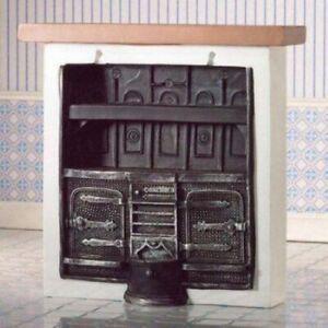 1/12 Scale Dolls House Emporium Large kitchen range/cooker 2845