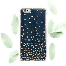 Golden Dots Design New iPhone XR XS Max Soft Cover iPhone 7 8 Plus Art 6s 5s SE