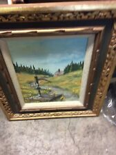 oil painting on canvas framed