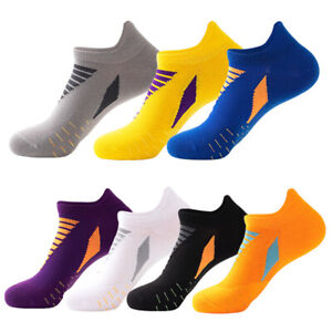 Profession Mens Trainer Socks Adults Sports Running Gym Liner Ankle Low Cut Sock
