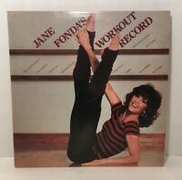 "Jane Fonda's Workout Record 2 LP's 12"" Album 1981 CBS # CX238054  VG Cond."