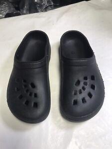 Generic Garden Slip On Clog Shoes Garden Sandals Black Women's Size 9 To 10