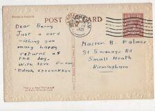 Benny Palmer Swanage Road Small Heath Birmingham 1921 489a