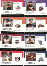 2007 Tristar Prospects Plus Protential Card Pick'em Complete Your Finish Set