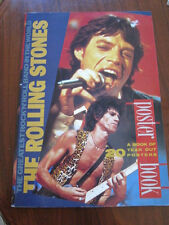 ROLLING STONES Poster book oversize 1989 UK