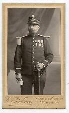 CDV . C. THIOLIER . POITIERS. OFFICIER .Médailles. Militaire . Military .