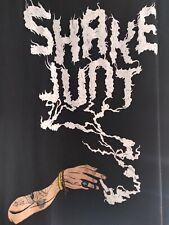 Very Rare Vintage Shake Junt T shirt 420 Kush Baker Deathwish skateboard NOS L