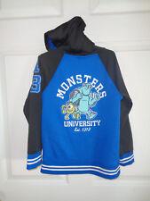 Disney - Boy's - Monsters University - Hooded Lightweight Jacket - Size 7