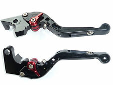 YAMAHA XSR700 XSR900 FOLDING BLACK BRAKE CLUTCH LEVER SET RACE TRACK ROAD R12D6