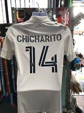 Adidas LA galaxy Home Chicharito 14 Jersey 2020 White Stadium Size 2XL Men Only