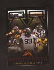 Ra'Shede Hagerman-Minnesota Golden Gophers-2013 Football Schedule-Tcf Bank