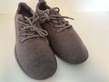 New Allbirds Womens Wool Runners Sz 8 Kotare Plum and  Plum Soles Purple Shoes