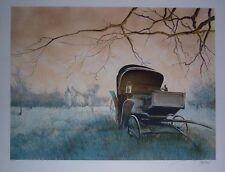 Francois d'Izarny Original Lithograph S/N
