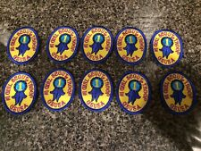 """Girl Scouts Patches """"#1 Girl Scout Troop, GSUSA""""-Never Used-Lot of 10"""