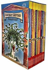 Ancient Myths Collection 16 Books Box Set Tony Ross Roman, Greek, Zeus, Titans