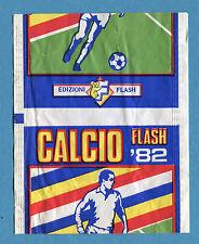 Bustina/Packet - figurine - CALCIO FLASH '82 - Flash - Vuota-Empty