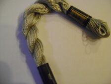 DMC coton perlé N° 5 pour la grosseur et N°644 pour la couleur, long 25 mètres