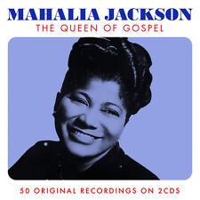 Mahalia Jackson QUEEN OF GOSPEL Best Of 50 Songs ESSENTIAL Music NEW SEALED 2 CD