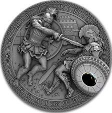 Niue 2017, Gods of Olympus, Demigods, Achilles, 2oz silver, $5