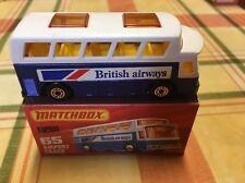 matchbox diecast airport coach no.65 vintage toy rare collectable bargain mint