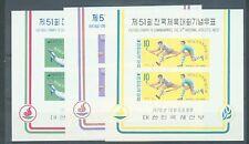 South Korea 1970 Athletics set of 3 miniature sheets sg.MS884