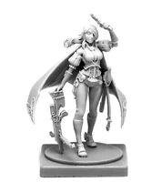 █ 30mm Resin Female Hunter Kingdom Death Unpainted Unbuild ONLY Figure WH036