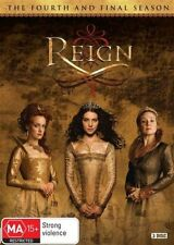 Reign : Season 4 (DVD, 3-Disc Set) NEW