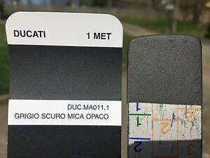"""Peinture carrosserie: 0,5 L GRIS ANTHRACITE METAL MAT """"DUCATI grigio scuro"""""""