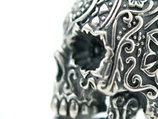 Ring Silber 925 Sugar Totenkopf Skull Biker Rocker Mittelalter Gothic Tattoo