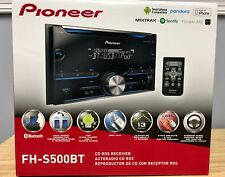 Pioneer FH-S500BT 2-DIN Bluetooth In-Dash CD/AM/FM Car Stereo Receiver FHS500BT
