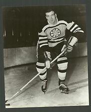 Jerry Toppazzini Boston Bruins 1960s Vintage Hockey Press Photo