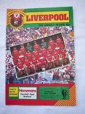 Orig. PRG EC 1 1984/85 FC Liverpool-LECH POZNAN!!! RARE